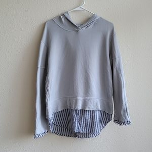 Anthro Left Of Center Jenna Hoodie Size S